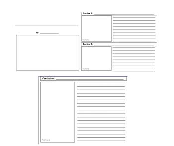Informational Writing Template - Lucy Calkins