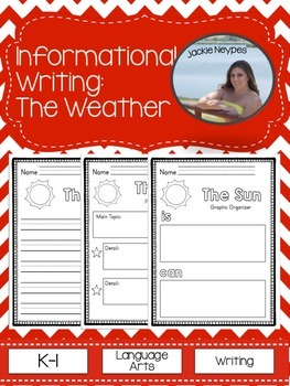 Informational Text and Writing: The Weather