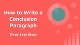 Informational Writing - Three Easy Steps to Writing a Conc