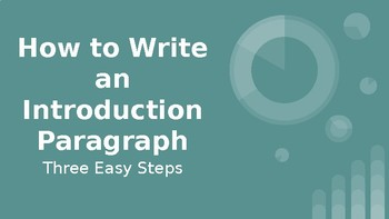 steps to writing an introduction