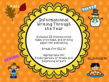 Informational Writing Throughout the Year