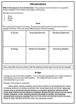 Informational Writing Toolkit Text Structure   Text Dependent Student kit