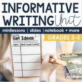 Informative Writing Unit