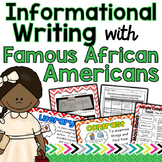 Informational Writing Unit Focusing On Famous African Americans