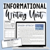 Informational Writing Unit - Grade 3
