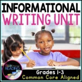 Informational Writing Unit: Posters, Graphic Organizers, Writing Activities
