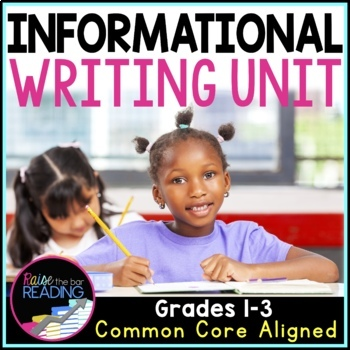 Informational Writing Unit: Posters, Graphic Organizers, W