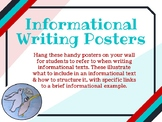 Informational Writing Wall Display Posters