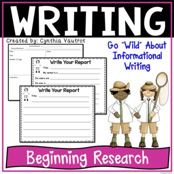 Informational Writing {Beginning Research}