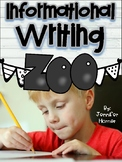 Informational Writing-Wild Animal Edition
