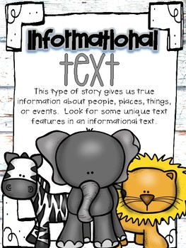 Informational Writing-Wild Animal Edition