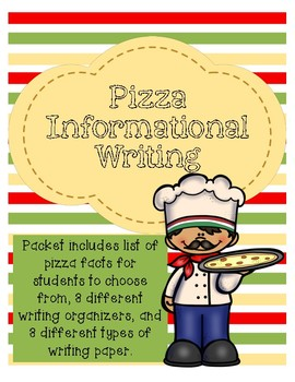 Informational Writing about Pizza