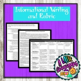 Informational Writing and Rubric