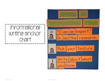 Writer's Workshop: Informational Writing by Kim Adsit aligned with Common Core