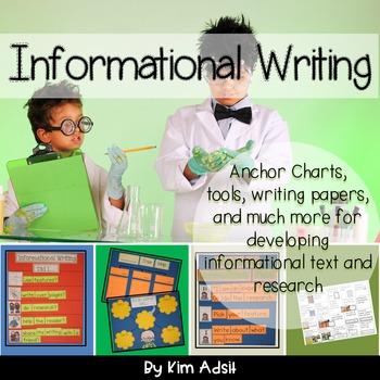 Writer's Workshop: Informational Writing by Kim Adsit alig