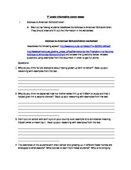 Informational Writing in the Common Core (research paper)