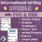 Informational Writing using POW and TIDE Bundle!