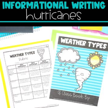 Informational Writing with Hurricanes