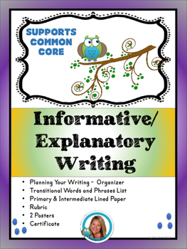 Informative Writing Supports Common Core