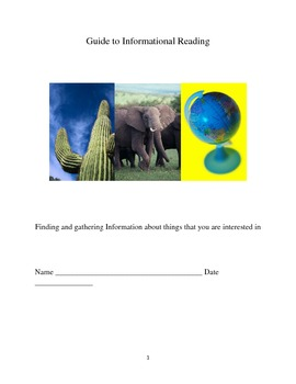 Teaching students how to read informational text through this  graphic organizer