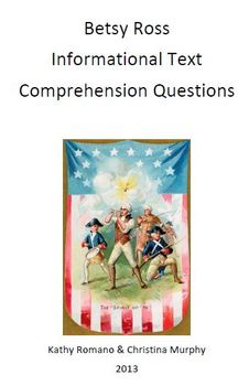 Informational text and comprehension questions on Betsy Ross
