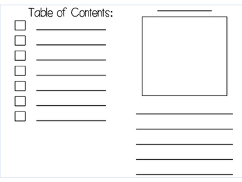 Writing booklets work great for informational writing and research