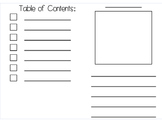 Writing booklets work great for informational writing and