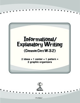Informational/Explanatory Writing (Common Core W.3.2)