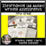 Informative (All About) Writing Assessment and Rubric