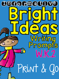 Informative Writing Prompts