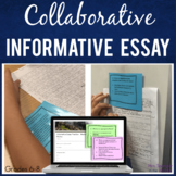 Informative Build an Essay Activity with Task Cards!