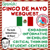 Spanish - Informative CINCO DE MAYO Webquest! - ENGLISH version