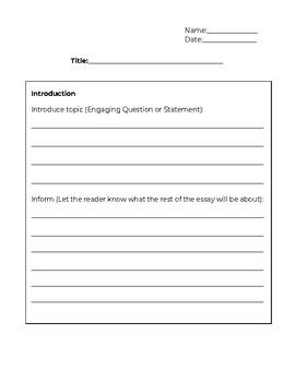 Informative Essay Examples