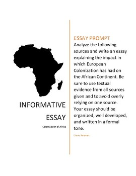 essay about africa
