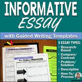 Informational Writing: 5 Informative Essays w/Guided Writi