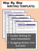 Informational Writing: 5 Informative Essays w/Guided Writing Templates 6-8