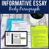 Informative Essay Writing | Body Paragraph Practice | Prin