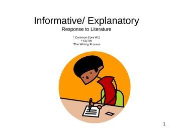 Informative/ Explanatory Essay