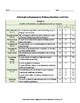 Informative/Explanatory Text-Based Writing Rubric and Look Fors for 2nd Grade