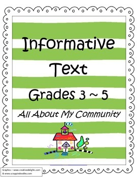Informative / Explanatory Text for 3rd through 5th Grade