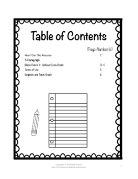 Informative/Explanatory Writing Basic Rubric CCSS Aligned for 6th-12th FREEBIE!