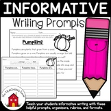 Informative/Explanatory Writing Prompts and Template