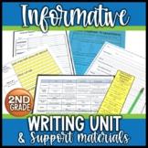 Informative Explanatory Writing Unit 2nd Grade