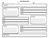 Informative Expository Writing Graphic Organizer