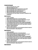 Informative/Expository writing checklist for peer editing
