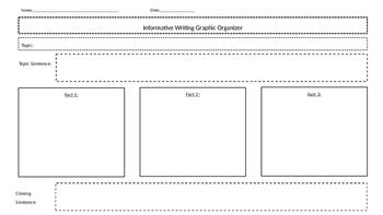 Informative Graphic Organizer