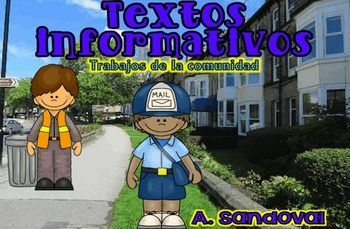 Informative PASSAGES (Close Reading-Community Workers) in Spanish