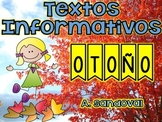 Textos informativos otoño Fall Informative PASSAGES (Close