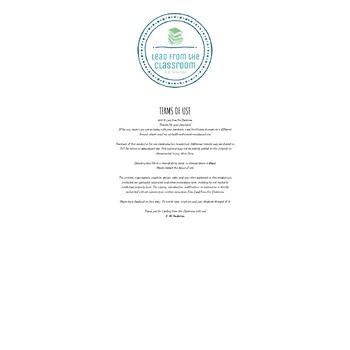 Informative Paper Graphic Organizer