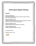 Informative Report Complete Guide to Final Copy
